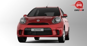 Nissan Micra Active Exterior Front View