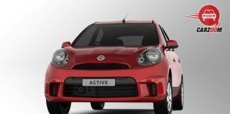 Nissan Micra Active Exterior Front View