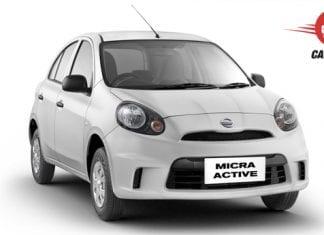 Nissan Micra Active Exterior View
