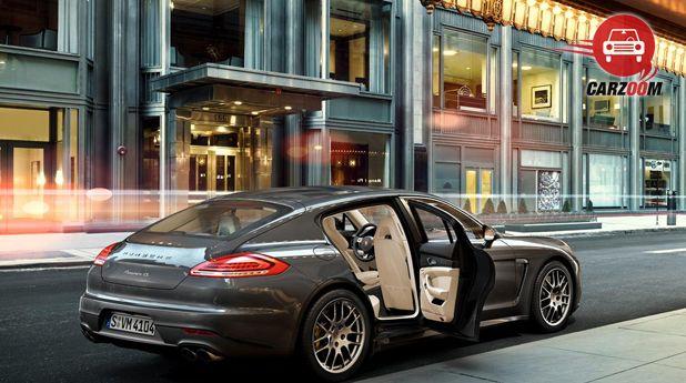 Porsche Panamera Exterior Window ViewPorsche Panamera Exterior Window View