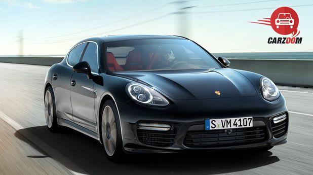 Porsche Panamera Exteriors Front Side View