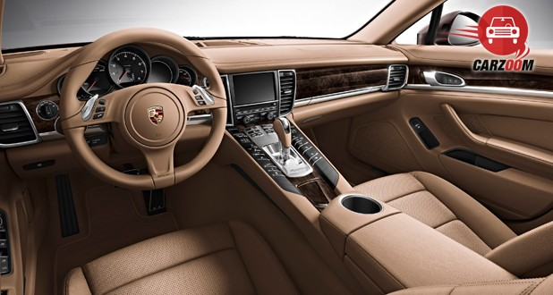 Porsche Panamera Interior Dashboard