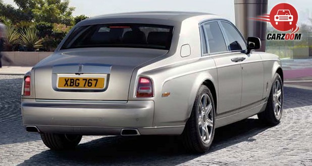 Rolls-Royce Phantom Exteriors Back View