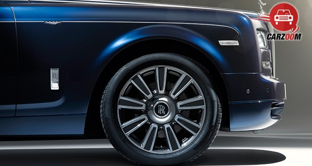 Rolls-Royce Phantom Front Tyre View