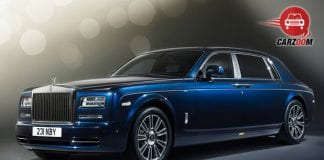 Rolls-Royce Phantom Front and Side View