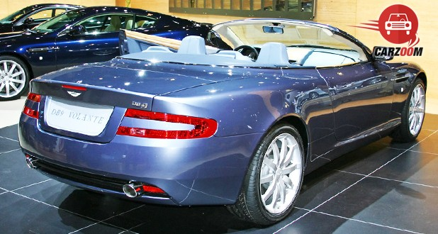 Aston Martin DB9 Volantine Exterior Back View