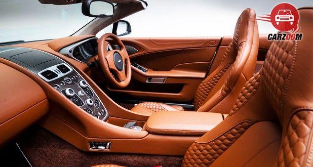 Aston Martin DB9 Volantine Interior Seat View