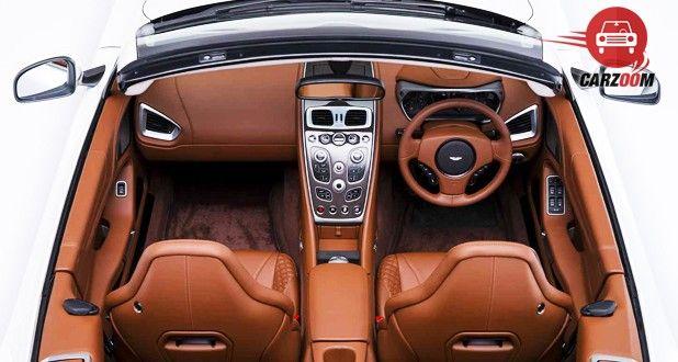 Aston Martin DB9 Volantine Top View