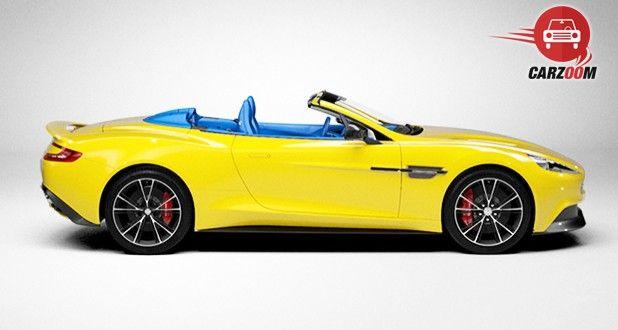 Aston Martin DB9 Volantine Yellow Color