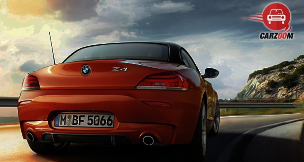 BMW Z4 Roadster Back View