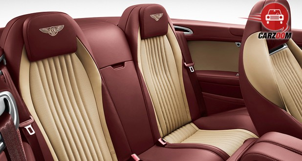 Bentley Continental GT Interior Seat View