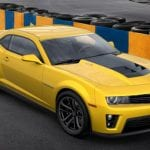 Chevrolet Camaro ZL 1 Exterior Top View