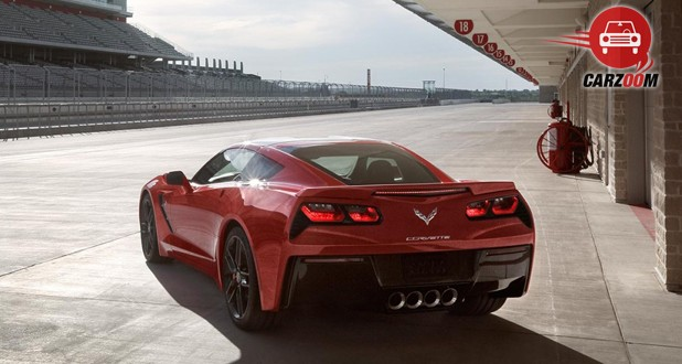 Chevrolet Corvette Stingray Back View
