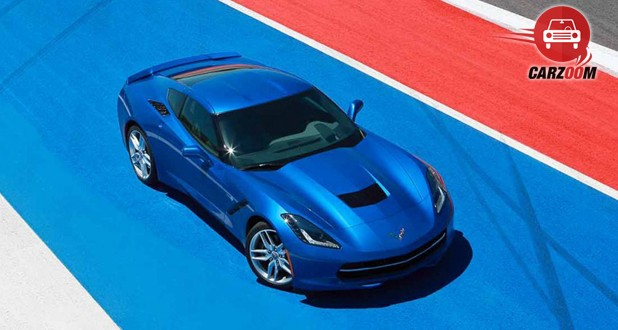 Chevrolet Corvette Stingray Exterior Top View