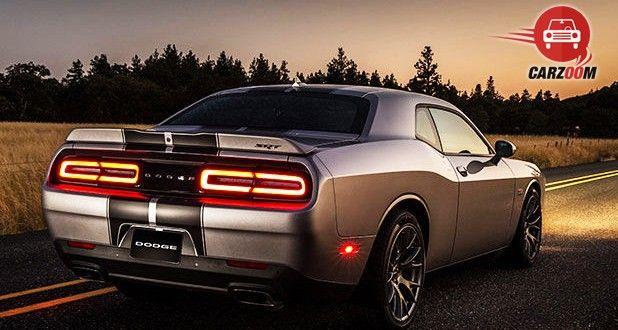 Dodge Challenger SRT Hellcat Exterior Back View