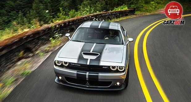 Dodge Challenger SRT Hellcat Front View