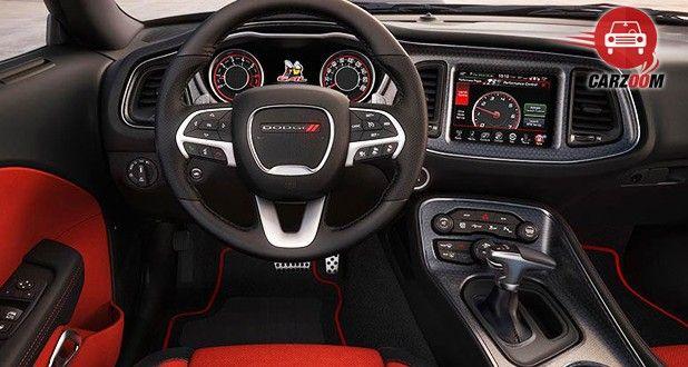 Dodge Challenger SRT Hellcat Interior View