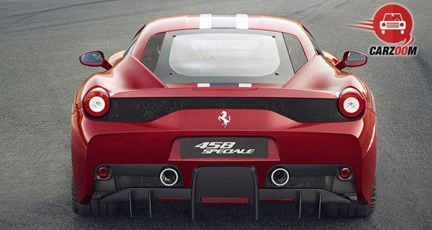 Ferrari 458 Speciale Exterior Front View