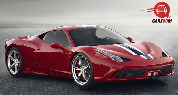 Ferrari 458 Speciale Exterior Side View