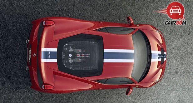 Ferrari 458 Speciale Exterior Top View