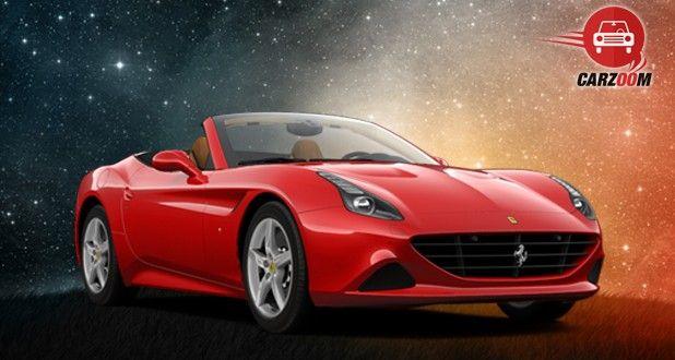 Ferrari California T Exterior Front View