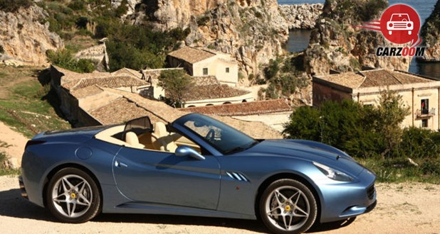 Ferrari California T Side View
