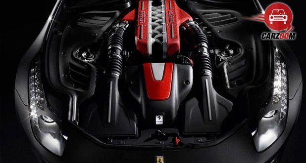 Ferrari F12 Berlinetta Engine View