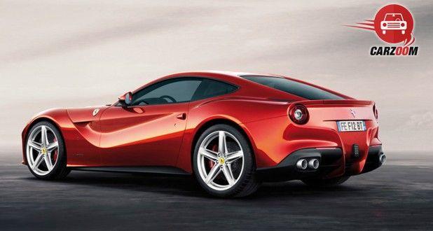 Ferrari F12 Berlinetta Exterior Side View