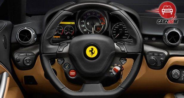 Ferrari F12 Berlinetta Interior Steering Wheel