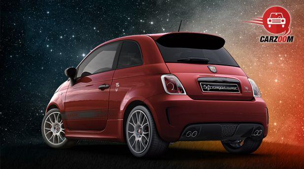 Fiat Abarth 595 Competizione Back View