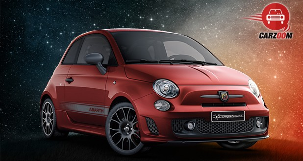 Fiat Abarth 595 Competizione Front Side View