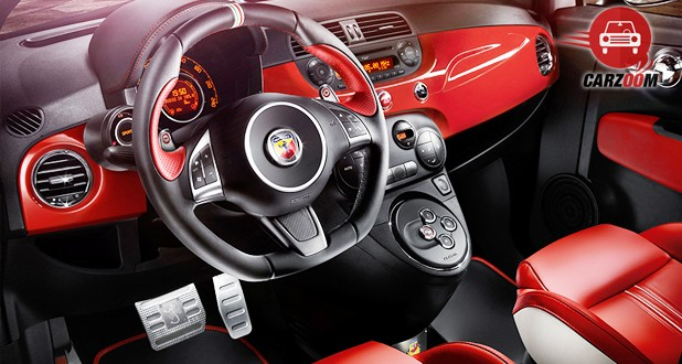 Fiat Abarth 595 Competizione Interior Dashboard View