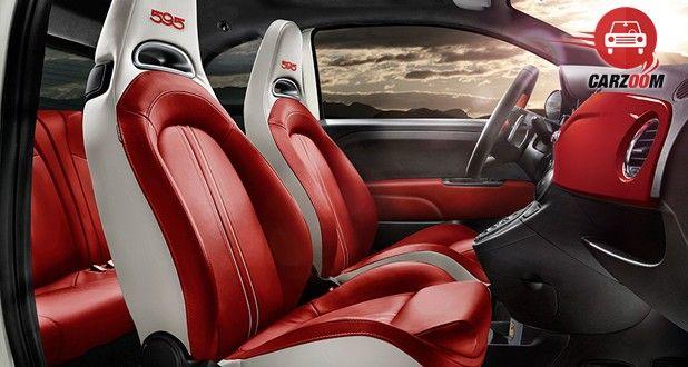 Fiat Abarth 595 Competizione Interior Seat View