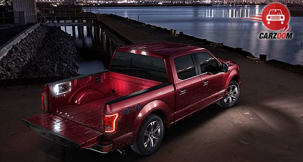 Ford F-150 Exterior Back View