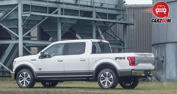Ford F-150 Exterior Side View
