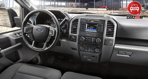 Ford F-150 Interior Dashboard View