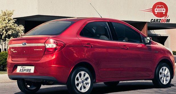 Ford Figo Aspire Exterior Back and Side View