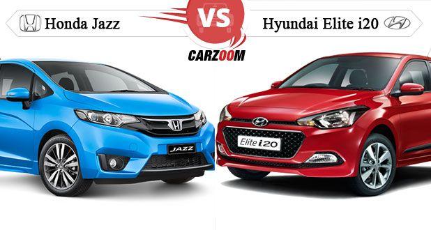 Hyundai Elite i20 Vs Honda Jazz