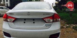 Maruti Suzuki Ciaz Hybrid Back View