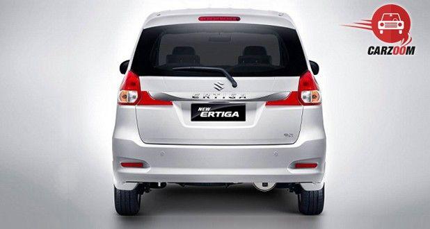 Maruti Suzuki Ertiga Facelift Exterior Back View