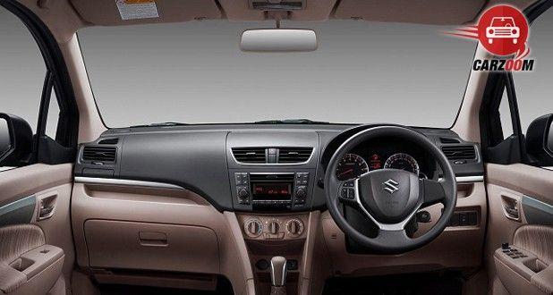 Maruti Suzuki Ertiga Facelift Interior Dashboard