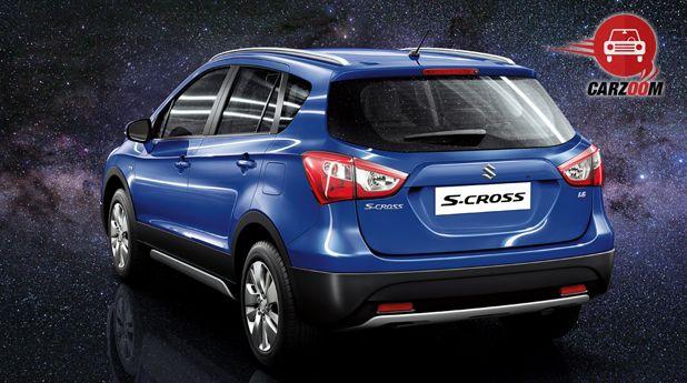 Maruti Suzuki S Cross Back Side View
