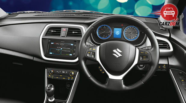 Maruti Suzuki S Cross Dashboard