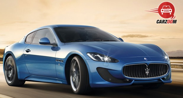 Maserati Gran Turismo Exterior Front and Side View