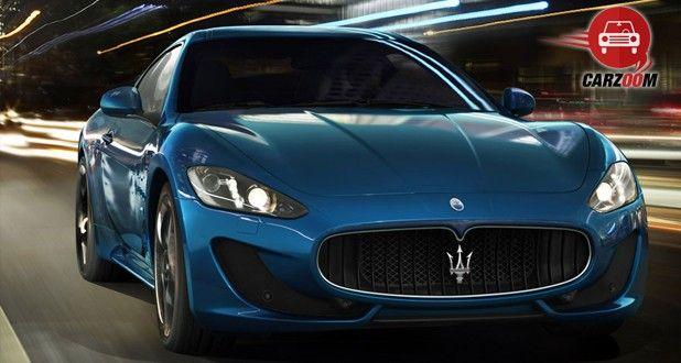 Maserati Gran Turismo front View