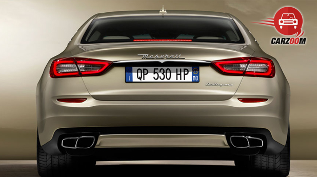 Maserati Quattroporte Exterior Back View