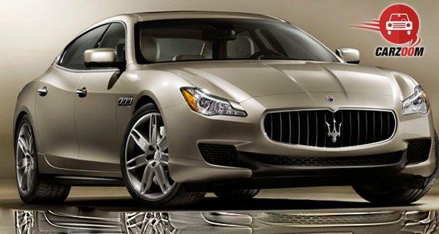 Maserati Quattroporte Exterior Front Side View