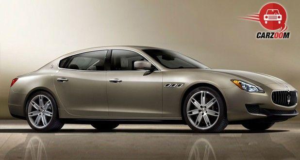 Maserati Quattroporte Exterior Side View