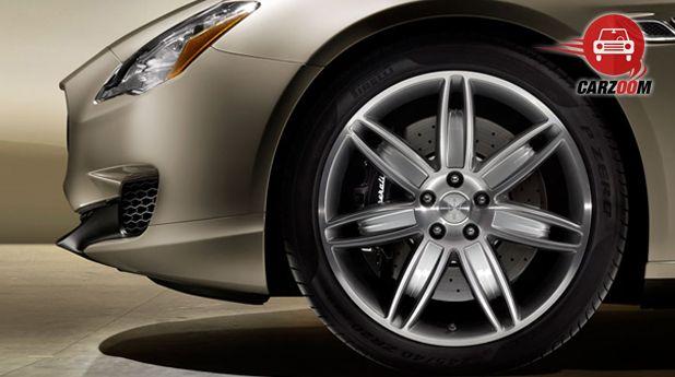 Maserati Quattroporte Exterior Tyre View