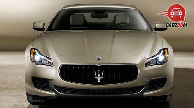 Maserati Quattroporte Front View